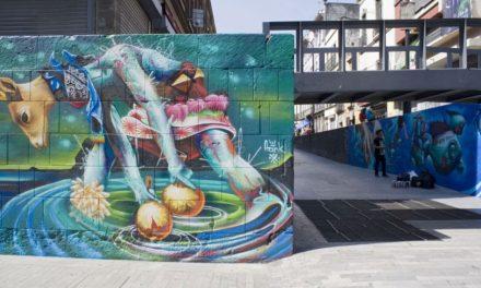 Impulsa Gobierno CDMX rescate de espacios públicos a través del arte urbano