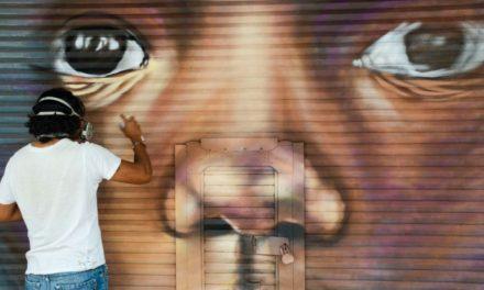 Lleva Gobierno de CDMX arte urbano a cortinas metálicas