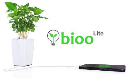 Energía de las plantas para cargar tu celular
