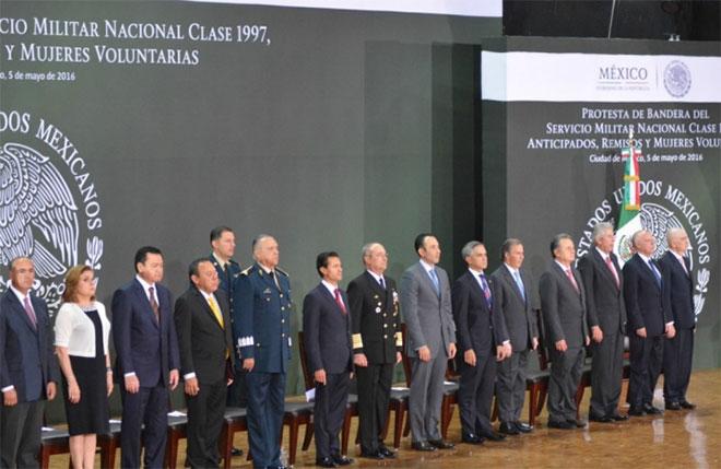 Asiste Jefe de Gobierno a la Conmemoración del 154 Aniversario de la Batalla de Puebla