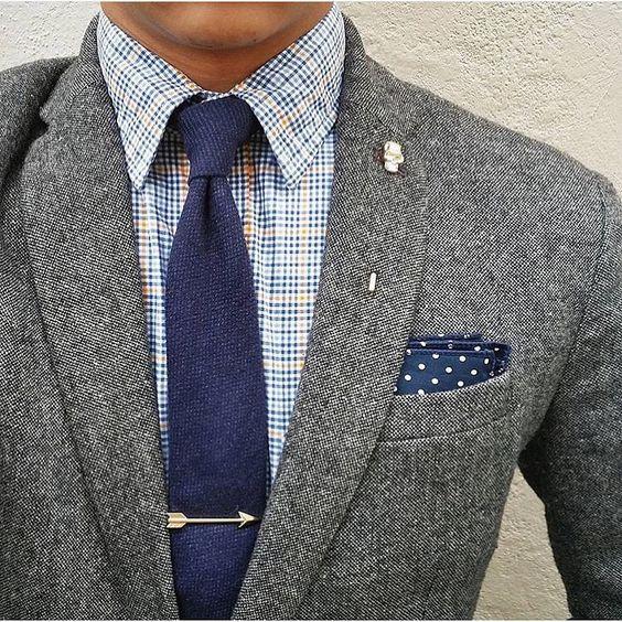 Men Fashion Single Ties Red Gold