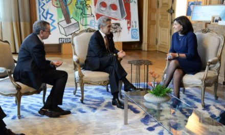 Se reúne Jefe de Gobierno con alcaldesa de París, Anne Hidalgo