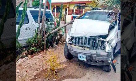 Felipe Calderón Sufrió un accidente