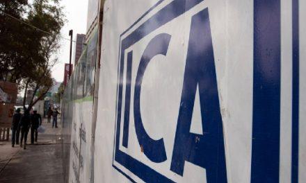 Suspenden a ICA en Bolsa de Valores