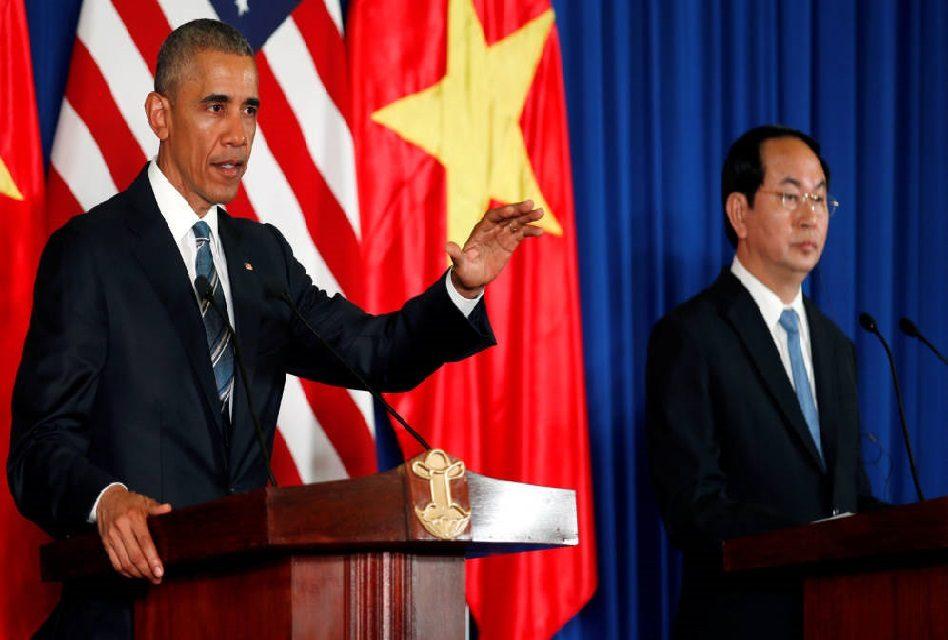 Estados Unidos levanta embargo de armas en Vietnam
