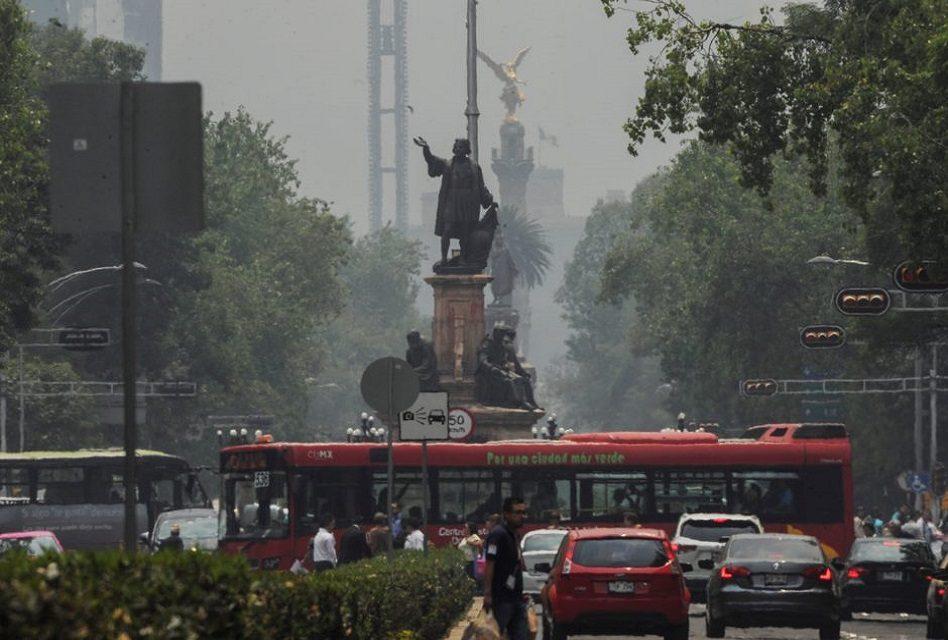 Hoy No Circula; mala calidad del aire