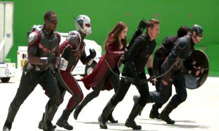"""¿Te imaginas la película de """"Capitán América Civil War"""" sin efectos especiales?"""
