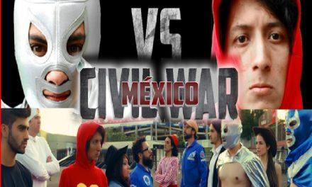 México tiene su propia Civil War… ¡Con súper héroes 100% mexicanos! ¿Ya lo viste?