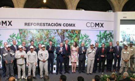 Suman esfuerzos iniciativa privada, sociedad civil y gobierno CDMX para Plan de Reforestación