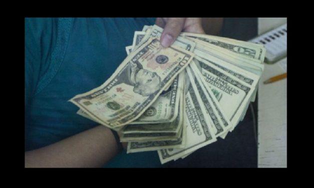 Dólar no baja de los 20 pesos