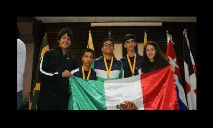 Mexicanos triunfan en Olimpiada de Matemáticas