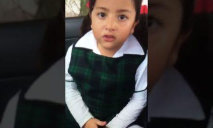 Sorpréndete con la niña y su discurso feminista
