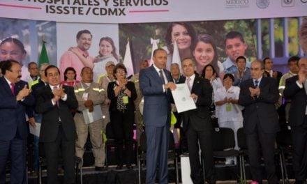 Anuncia Jefe de Gobierno dos nuevos hospitales del ISSSTE en CDMX