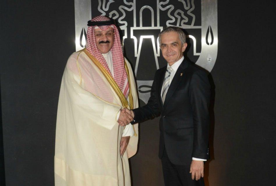 Se reúne Jefe de Gobierno con embajador de Kuwait