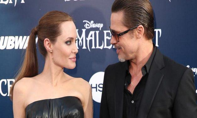 Angelina Jolie y Brad Pitt ¿se divorcian?