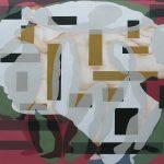 Abstracción de la Figura en  la Galería Oscar Román