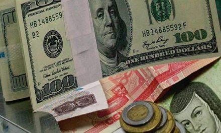 Peso pierde 23 centavos frente al dólar