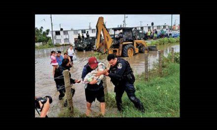 En Guerrero, 130 rescatados por inundaciones
