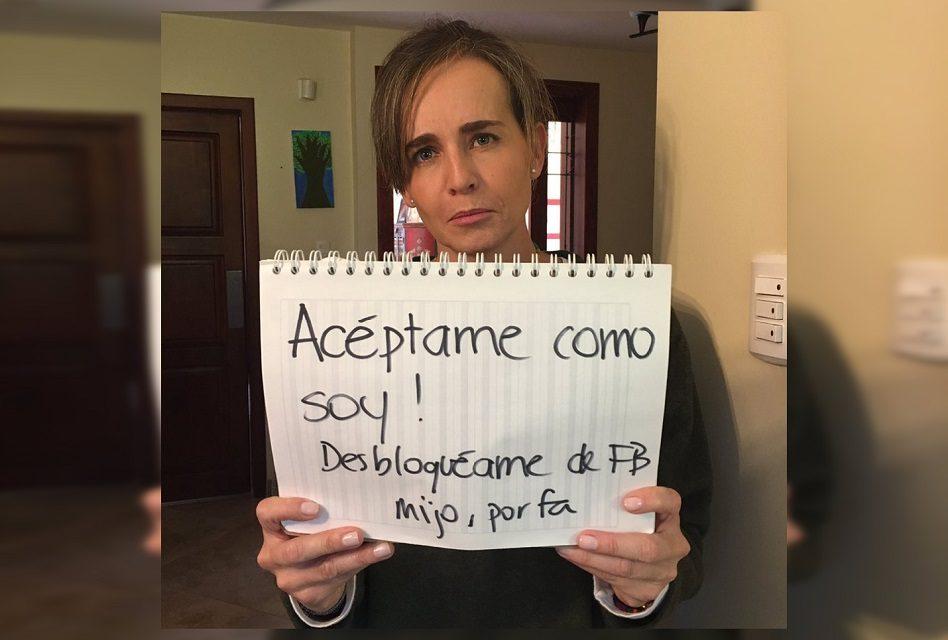 Mamá pide compartan su foto… ¡Para que su hijo la desbloquee de Facebook!