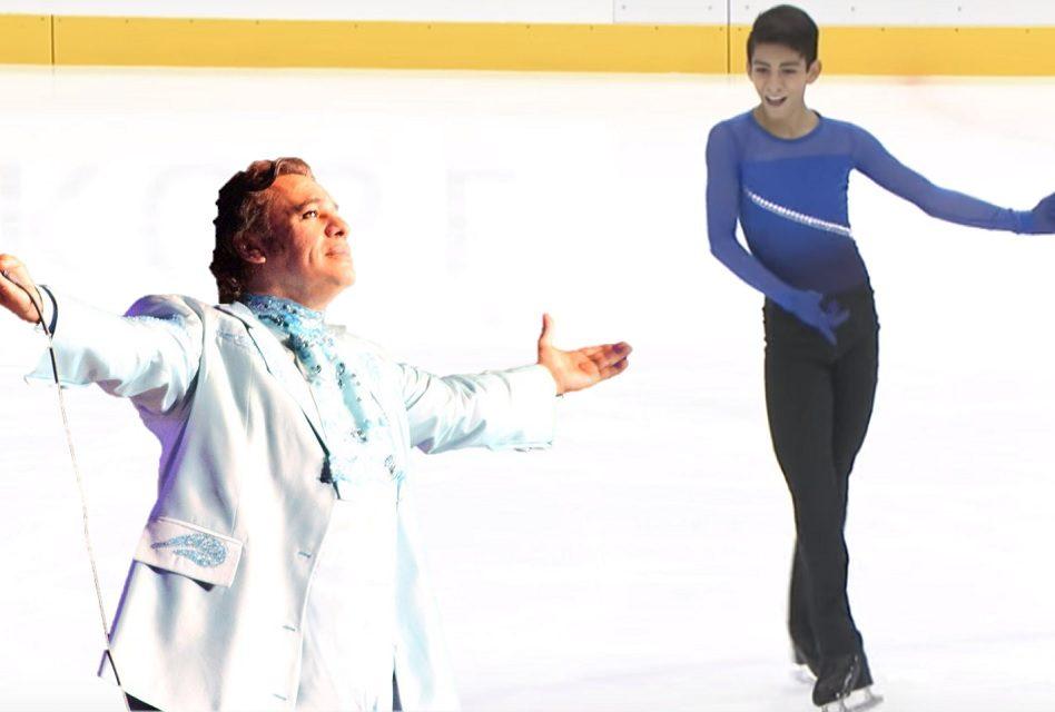 Jovencito mexicano clasificó al mundial de patinaje ¡Con música de Juan Gabriel!