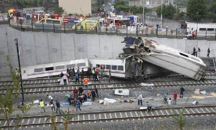 Se descarrila tren en España
