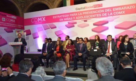 Implementa Gobierno de la CDMX Estrategia para la Prevención del embarazo en niñas y adolescentes