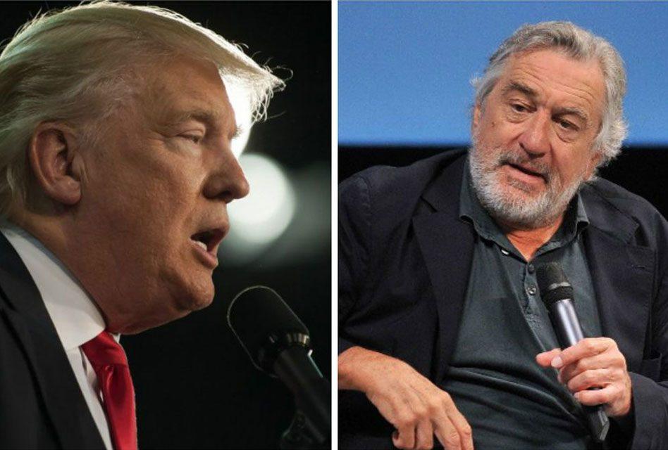 A Robert De Niro le 'gustaría' golpear a Donald Trump