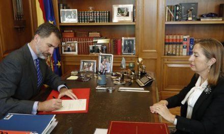 Rey de España confirma a presidente de España