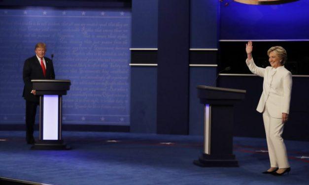 Hillary pierde tercer debate