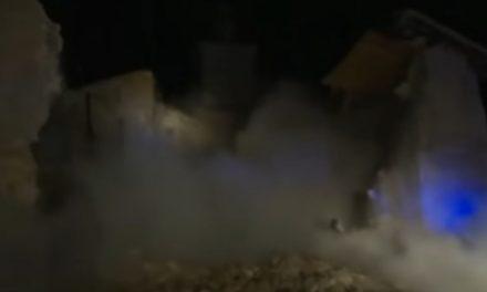 Luego del terremoto en Italia, iglesia del siglo 15 se colapsa -Video-