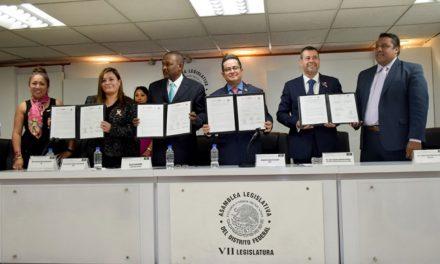Trabajará Gobierno CDMX con Haití esquema de sustentabilidad alimentaria