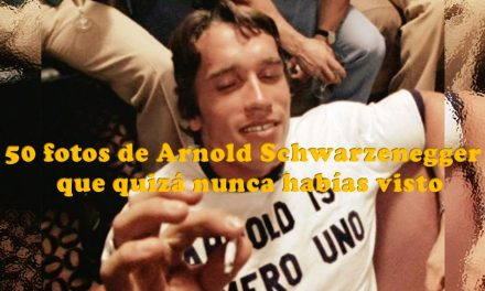 50 fotos de Arnold Schwarzenegger que quizá nunca habías visto (VIDEO)