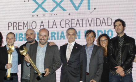 Jefe de Gobierno de la CDMX presente en XXVI Premio a la Creatividad Publicitaria en Radio