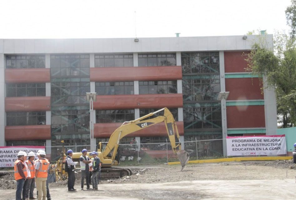 Invierte Gobierno de CDMX 195 mdp para mejorar infraestructura educativa