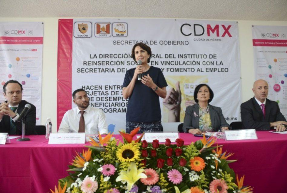 Ofrece Gobierno de CDMX seguro de desempleo a personas preliberadas
