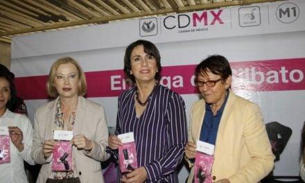 "Ha repartido Gobierno de CDMX 105 mil silbatos ""Vive Segura"""