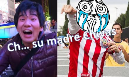 """Japonés es fan del América manda """"mentada de madre"""" a las Chivas ¡Ódienlo más!"""
