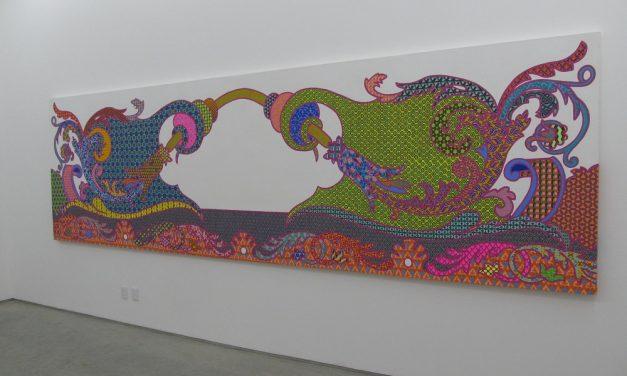 En las Galería Enrique Guerrero expuso su obra Carolina Ponte
