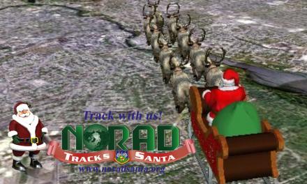 Niños y Papás ¡Sigan EN VIVO a Santa en su recorrido por todo el mundo!
