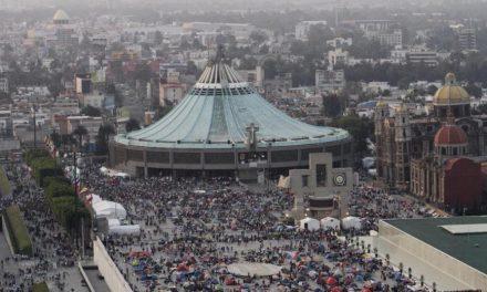 Más de siete millones visitan Basílica de Guadalupe