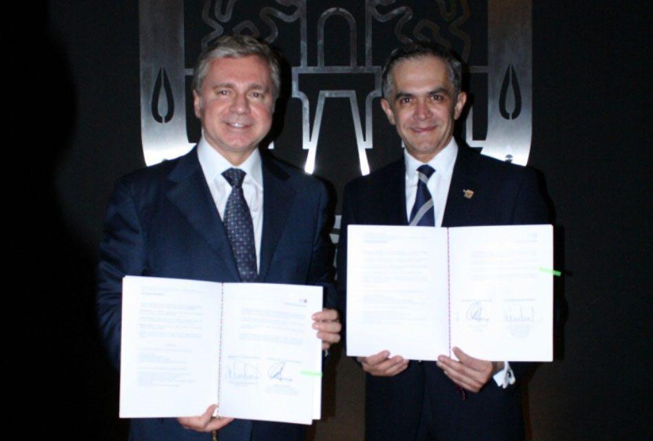 Firma Jefe de Gobierno convenio de cooperación cultural con la capital de Rusia