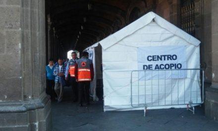 En CDMX instalan centro de acopio en apoyo a afectados por explosión en Tultepec