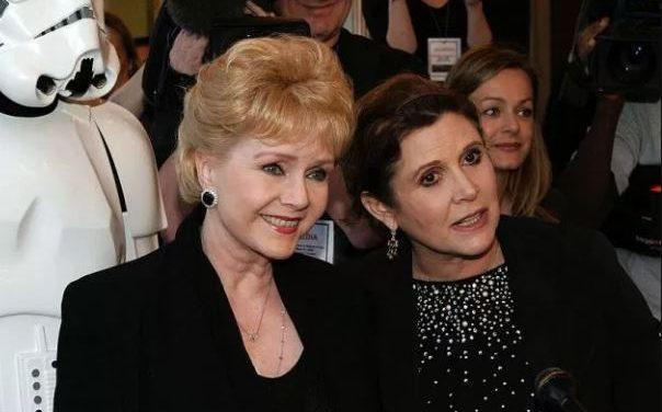 Fallece madre de Carrie Fisher