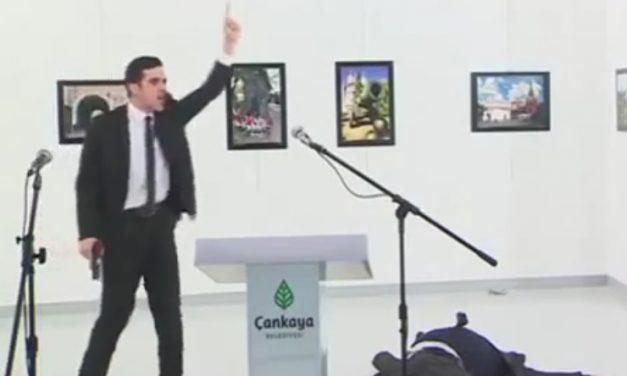 VIDEO MUY GRÁFICO | Asesinan al embajador ruso en Turquía