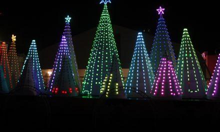 """Llega espectáculo """"Luces de Navidad"""" al Zócalo de CDMX"""