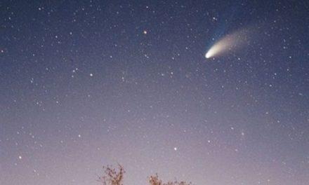 Nuevo cometa será visible desde la Tierra