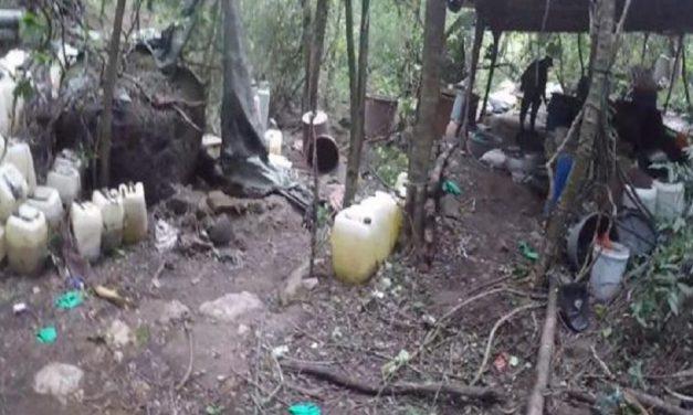 Desmantelan 3 narcolaboratorios en Sinaloa