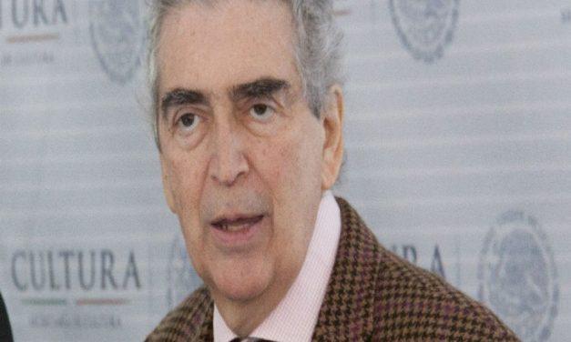 Fallece secretario de Cultura, Rafael Tovar y de Teresa