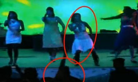 La mata en pleno escenario porque no quiso bailar con él…¡Ella estaba embarazada!