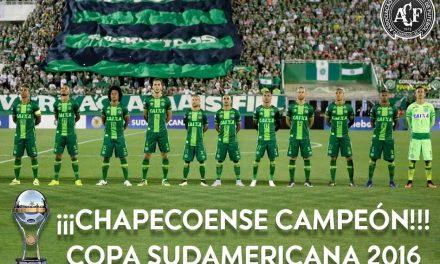La CONMEBOL otorgó al #Chapecoense el título de Campeón Sudamericana 2016
